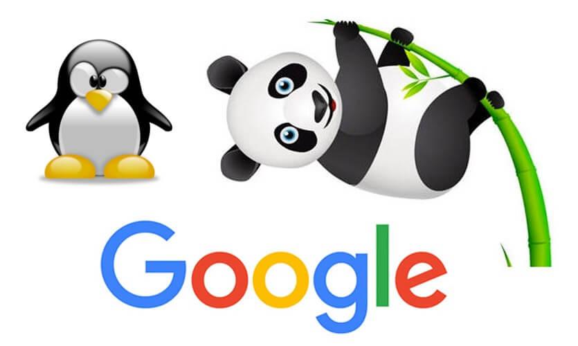 Google Penguin y Panda - Imagen del panda y el pingüino
