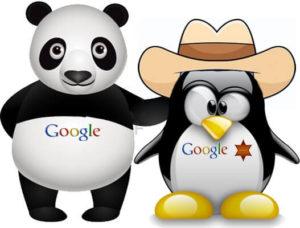 Google Penguin y Panda - Imagen de los algoritmos