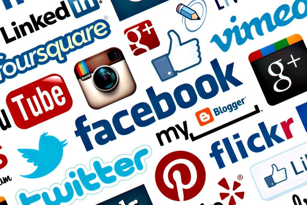 Marketing en redes sociales - Imagen de varias redes sociales