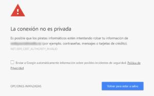 Google penalzia webs sin SSL