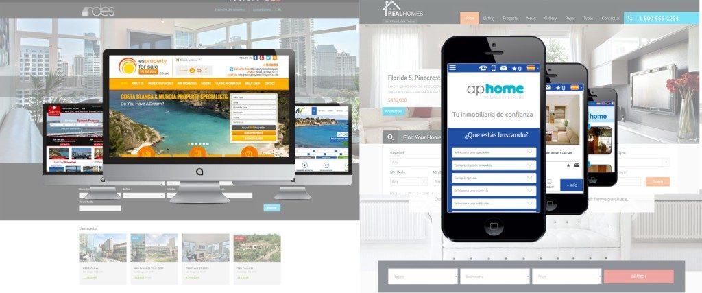 Diseño web para inmobiliarias - Empresa profesional de diseño web