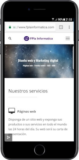 Diseño web responsive en Valencia