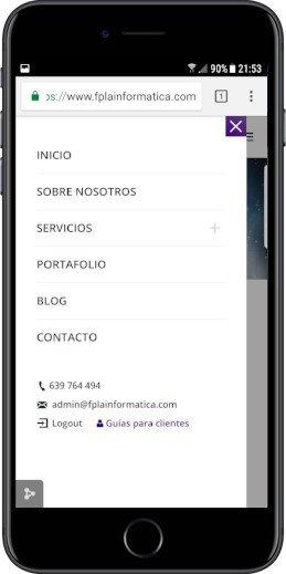 Agencia de diseño web en Valencia responsive